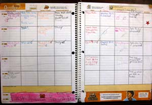 assignments college planner