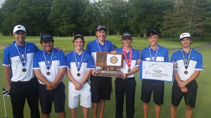 Boys Golf Team Picture From State