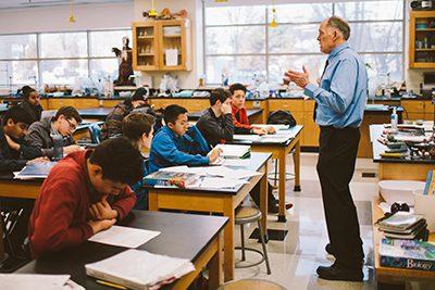 High school biology teacher