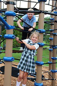 LS children on the playground