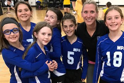 fifth grade volleyball team