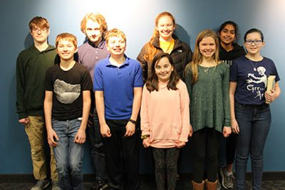 Middle School Mathcounts members