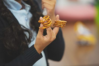 pretzels are a nut-free snack