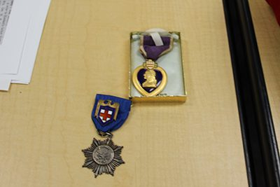 Bob Riley's father's medals