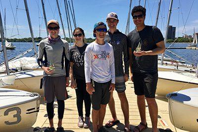 MPA sailing at the championship