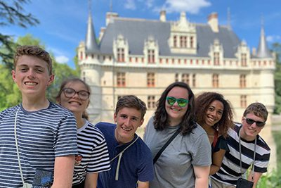 students on their global summer adventure