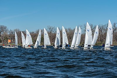 mpa sailing team on the water
