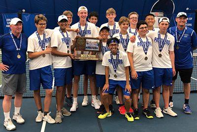 boys state champion tennis team
