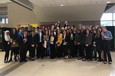 MPA's largest 52 student debate team