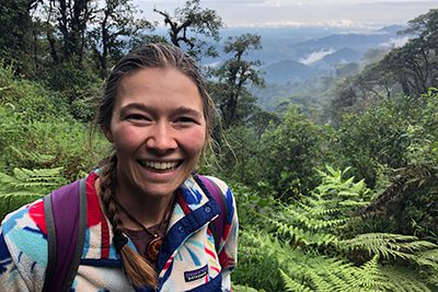 Laura Nicholson '14 spent six months researching pollinator declines in the Ecuadorian cloud forest