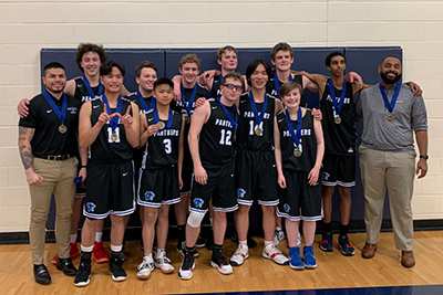 mpa boys basketball team won the annual kreischer tournament
