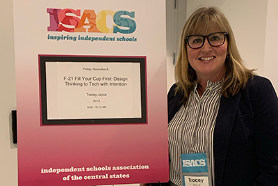 Tracey Joyce at the ISACS conference