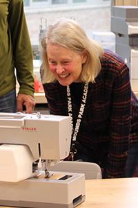 POA Jane Harper in the makerspace