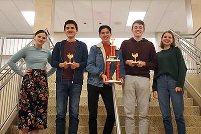 11th grade quiz bowl team