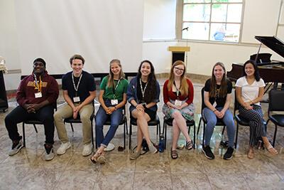 alumni panel for MPA seniors