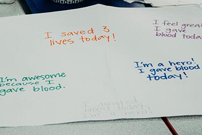 MPA blood drive posters