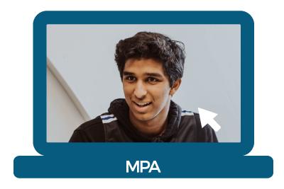 MPA junior Dhruv
