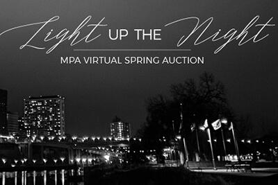 MPA virtual spring auction logo