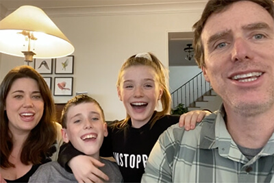 the Boyle family video