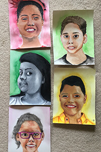 Zoe Hutton's art projects