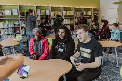 pairing assembly activities in the library