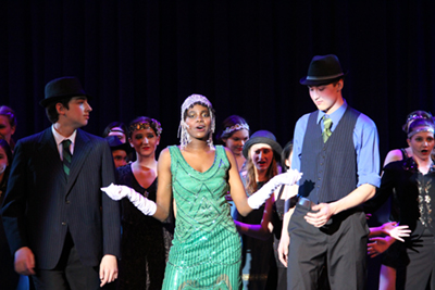 MPA students in the CHICAGO musical