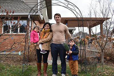 David Slade and family