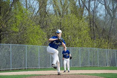 Evan pitching