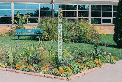 Lower School Peace Garden
