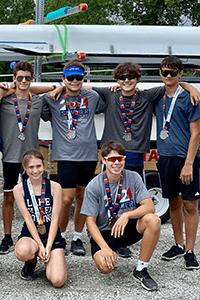 MPA Student-Athletes/Lake Phalen Rowing Club take on the Iowa Games Regatta
